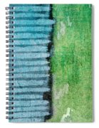 An Indirect Reflection Spiral Notebook