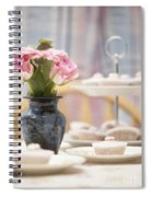 An Invitation To Indulge Spiral Notebook