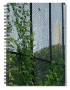 An Obstructed View Of Washington Spiral Notebook