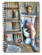 An Odd Assortment Spiral Notebook