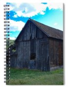 An Old Barn In The Sage Spiral Notebook