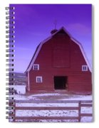 An Old Barn In The Wenas Spiral Notebook