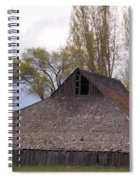 An Old Barn Near Klamath Falls Spiral Notebook