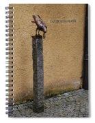 An Old Crow Spiral Notebook
