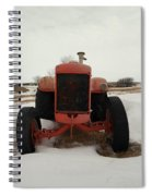 An Old Dase Tractor Spiral Notebook
