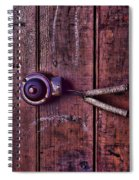 An Old Doorbell Spiral Notebook