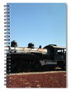 An Old Engine Spiral Notebook