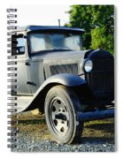 An Old Farm Truck  Spiral Notebook