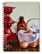An Old Fashion Breakfast Spiral Notebook