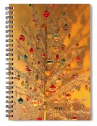 An Old Fashioned Christmas - Aluminum Tree Spiral Notebook