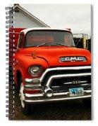 An Old Gmc  Spiral Notebook