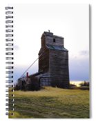 An Old Grain Elevator Spiral Notebook