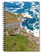 An Old  Hydroelectric Generating Station Spiral Notebook