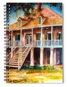 An Old Louisiana Planters House Spiral Notebook