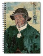 An Old Man, Celeyran, 1882 Oil On Canvas Spiral Notebook