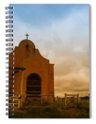An Old Mission In Northeastern Montana Spiral Notebook