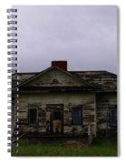 An Old Montana School House Spiral Notebook