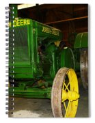 An Old Restored John Deere Spiral Notebook