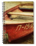 An Old Row Boat Spiral Notebook