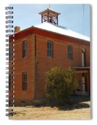 An Old School In White Oaks New Mexico Spiral Notebook