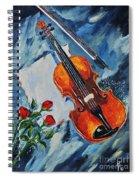 An Old Song 2 Spiral Notebook