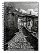 An Old Spanish Town Puente De Montanana Spiral Notebook