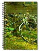 An Old Two Seater Spiral Notebook