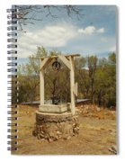 An Old Well In Lincoln City New Mexico Spiral Notebook