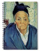 An Old Woman Of Arles Spiral Notebook