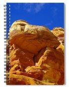 An Orange Boulder Spiral Notebook