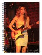 Guitarist Ana Popovic Spiral Notebook