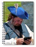 Anachronism 6957 Spiral Notebook