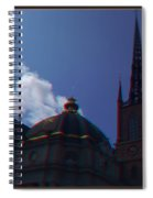 Anaglyph Church Spiral Notebook