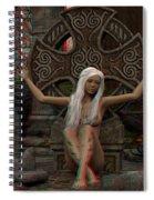 Anaglyph Elfa Spiral Notebook