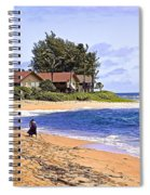 Anahola Beach Kauai Spiral Notebook