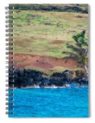 Anakena Horses Spiral Notebook
