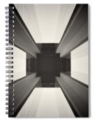 Analog Photography - Berlin Abstract Architecture Spiral Notebook