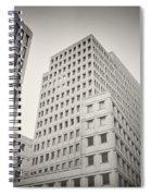 Analog Photography - Berlin Beisheim Center Spiral Notebook