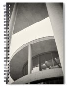 Analog Photography - Berlin Paul-loebe-haus Spiral Notebook