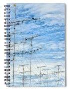 Analog Television Aerials Spiral Notebook