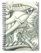Anare'il The Chaos Dragon Spiral Notebook