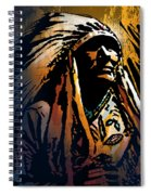 Ancestral Light Spiral Notebook