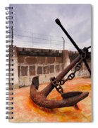 Anchor In La Canal Spiral Notebook