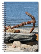 Anchor Spiral Notebook