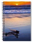 Anchor Ocean Beach Spiral Notebook