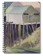 Anchorage Dock 1980s Spiral Notebook
