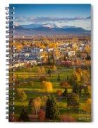Anchorage Landscape Spiral Notebook
