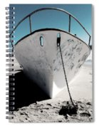 Anchored Ashore Spiral Notebook