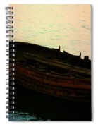 Anchored For The Day Spiral Notebook
