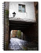 Ancient Alley In Tui Spiral Notebook